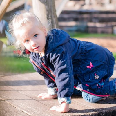 Der beste Spielplatz für Kinderfotos in der Gartenschau