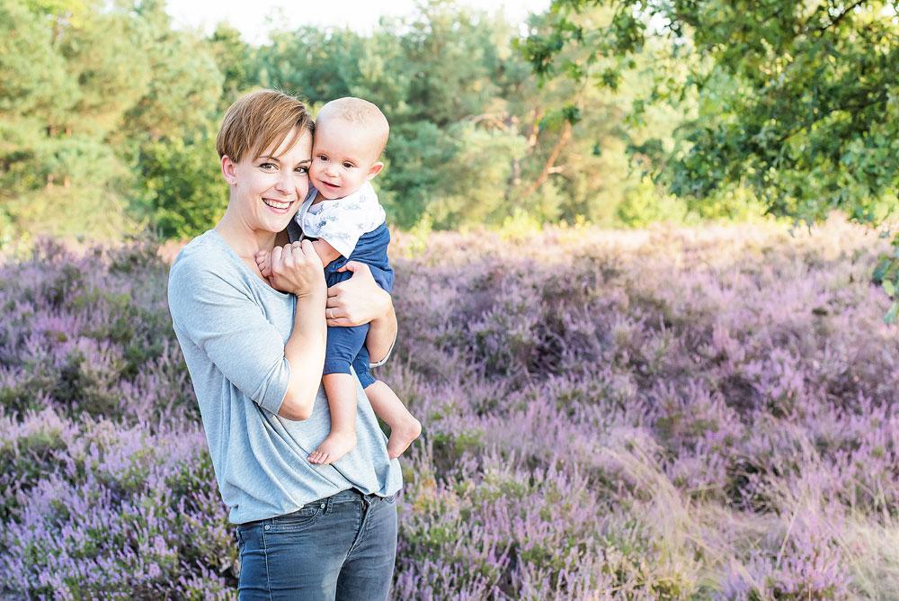 Familienfotos - pures Mutterglück