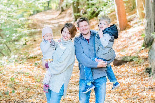 Familienfotos – Gemeinsamer Herbsttag