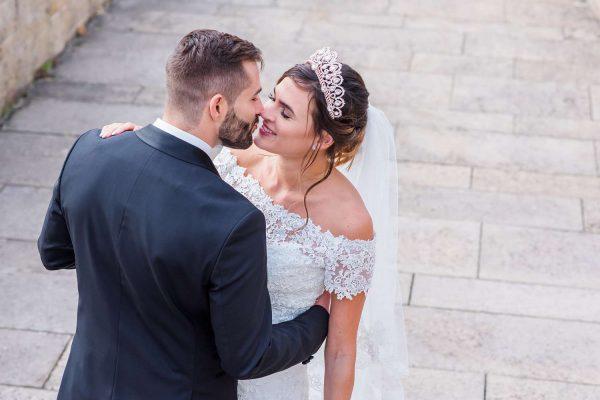 Hochzeitsfotos: Ein Märchentraum im Schloss